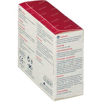 Gilbert Eosine Solution Aqueuse 2% Sterile 20 ml