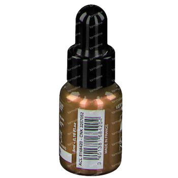 Lisandra Cosménail Vernis à Ongles 122 Dore Nacre 5 ml