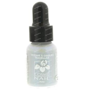 Lisandra Cosménail Vernis à Ongles 126 Blanc Perle 5 ml