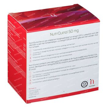 Nutriquinol 50 mg 180+30 capsules