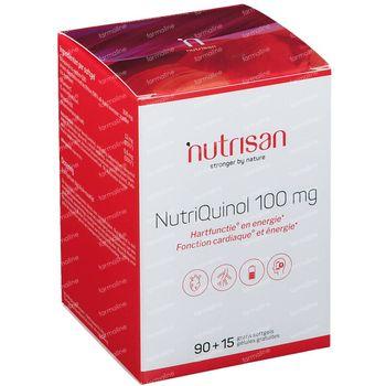 Nutrisan Nutriquinol 100 mg + 15 Caps Gratuit 90+15 capsules