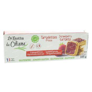 Celiane Gâteau Aux Fraises 165 g