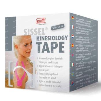 Sissel Kinesiology Tape Rosa 5cm x 5m 1 st