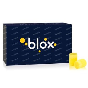 Blox Protections Auditives Dormir (Cylindrique) Recharge 20 paire