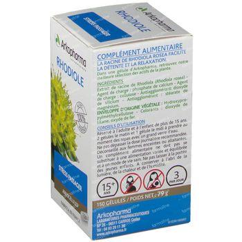 Arkogelulen Rhodiole 150 capsules