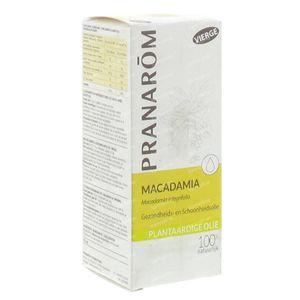 Pranarom Macadamia Vierge Huile Végétale 12197 50 ml