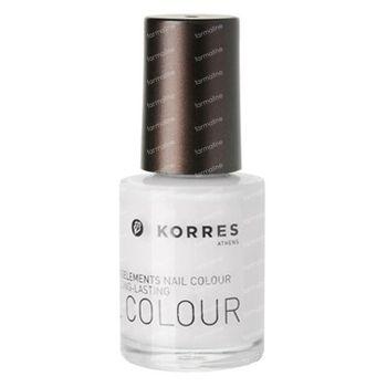 Korres Nail Colour 00 Total White 10 ml