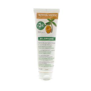 Klorane Creme De Jour Sans Rinçage Mangue 125 ml