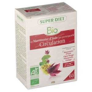Super Diet Complex Horse Chestnut Circulation Bio 60 tablets