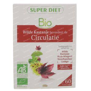 Super Diet Complex Horse Chestnut Circulation Bio 60 stuks Tablets