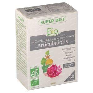 Super Diet Complex Kurkuma Articulation Bio 60 stuks Capsules