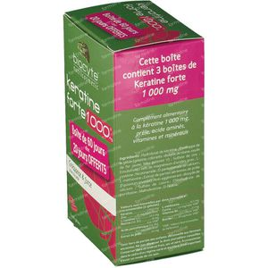 Biocyte Keratine Forte 2+1 Free 120 capsules