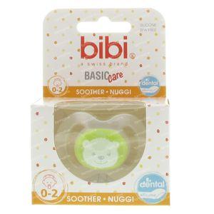 Bibi Sucette Newborn + Prématuré Ours 0-2m 1 pièce