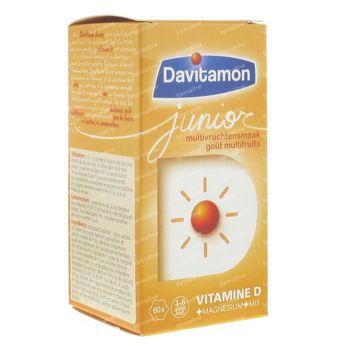 Davitamon Junior Multifruit 60 comprimés à croquer