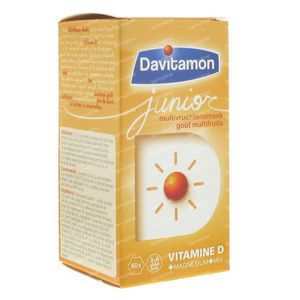 Davitamon Junior Multivrucht 60 kauwtabletten