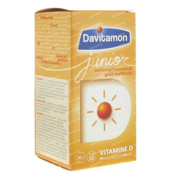 Davitamon Junior Multivrucht 60 kauwtabletten