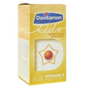 Davitamon Kids Banaan 60 St tabletten