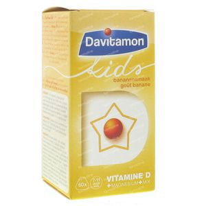 Davitamon Kids Banaan 60 tabletten