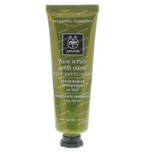 Apivita Creme Intensif Exfol. Olive 50 ml tube