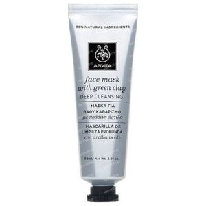 Apivita Deep Cleansing Mask With Green Clay 50 ml tube