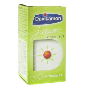 Davitamon Junior Vit D3 120 St Melting tablets
