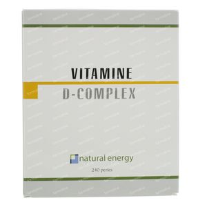 Natural Energy Vitamine D Complex 240 capsules