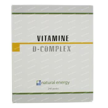 Natural Energy Vitamine D Complex 240 capsules
