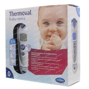 Hartmann Thermometer Thermoval Baby 92550910 1 item