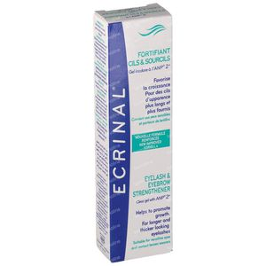 Ecrinal Strengthen Eyelashes & Eyebrows + ANP 9 ml