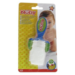 Nuby The Nibbler 3-Pack 3 pieces