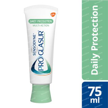 Sensodyne Dentifrice Proglasur Daily Protection 75 ml tube
