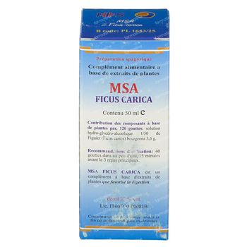 Ficus Carica MSA Macérat 50 ml gouttes