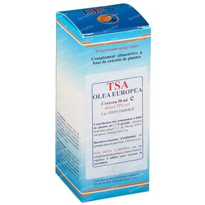 Olea Europaea TSA Tinctuur 50 ml druppels