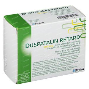 Duspatalin Retard 200mg 60 capsules