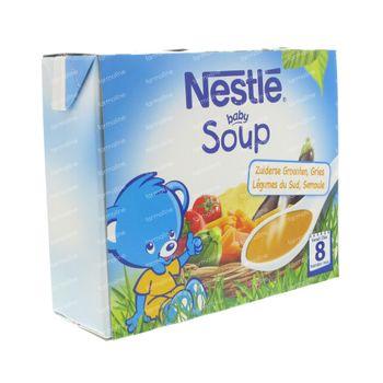 Nestle Baby Potage Légumes Méditerranéens Gruaux 500 ml