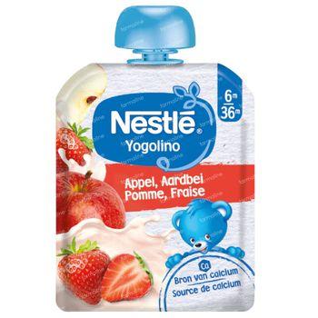 Nestle Yogoline Pomme-Fraise 90 g