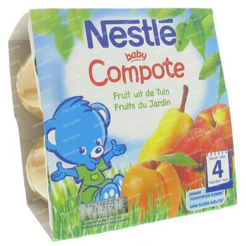 Nestle Baby Compote Fruits Jardin 400 g