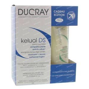 Ducray Kelual DS Shampoo + Eluation Shampoo 175 ml