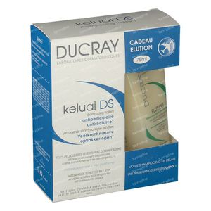 Ducray Kelual DS Shampoo + Eluation Shampoo 175 ml