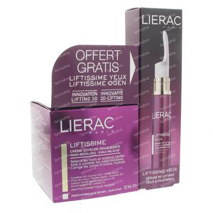 Lierac Liftissime Silky Reshaping Cream With Free Eyes Serum 65 ml