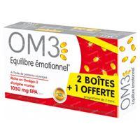 OM3 Emotioneel Evenwicht Classic Pack + 60 Capsules GRATIS 3x60  capsules