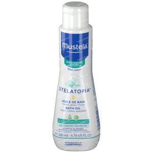 Mustela Stelatopia Milky Bath Oil Atopic Skin New Formula 200 ml
