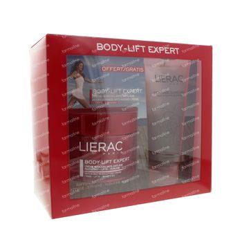 Lierac Body-Lift Expert Crème Remodelante Anti-Age avec Gratuit Gommage 200 ml