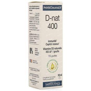 Physiomance D-Nat 400 20 ml