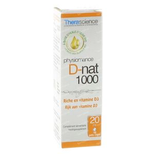 Physiomance D-nat  20ml 1000 gouttes