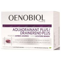 Oenobiol Aquadrainant Plus - Cuisses et Jambes Minces, Minceur & Perte de Poids 45  comprimés