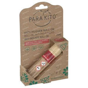 Parakito Anti Mosquito Roll-on 20 ml roller
