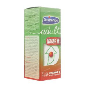 Davitamon Adult Energy Boost 120 ml vials