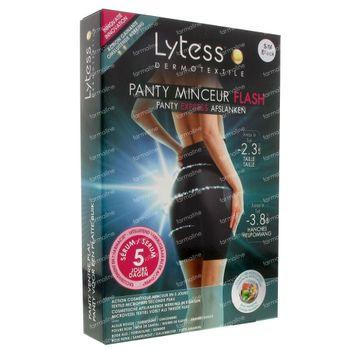 Lytess Flash Panty Ventre Plat 5 Jours Minceur S/M Noir 1 st