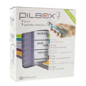 Pilbox Seven 1 stuk